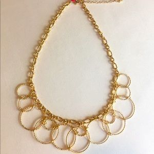 Towne and Reese Gold Statement Necklace